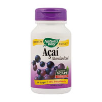 Acai SE 520mg 60 cps, Nature's Way