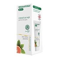 Crema de fata pentru ten gras cu Aloe Vera cu grapefruit 75 ml, Vivanatura