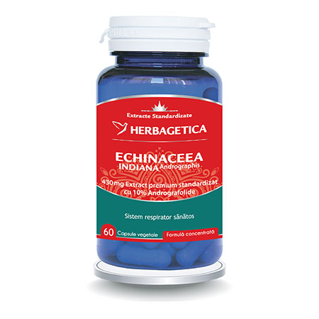 Echinacea Indiana 60 cps, Herbagetica