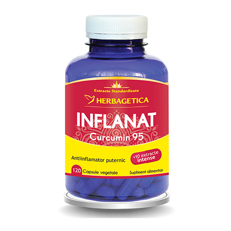 Inflanat Curcumin 95 120 cps, Herbagetica