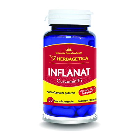 Inflanat Curcumin 95 30 cps, Herbagetica