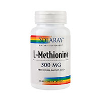 L-Methionine 500mg 30 cps, Solaray
