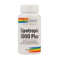 Lipotropic 1000 Plus 100 cps, Solaray
