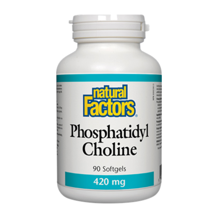 Phosphatidyl Choline (Fosfatidil Colina) 420mg 90 capsule moi, Natural Factors