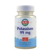 Potassium 99mg 100 tb, KAL
