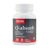 Q-Absorb (Co-Q10 100mg) 30 cps, Jarrow Formulas
