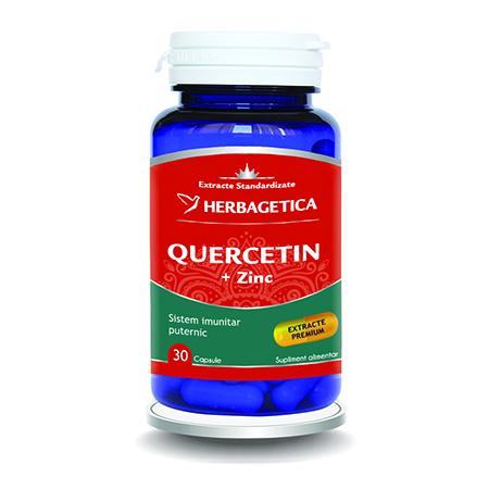 Quercetin+Zinc 30 cps, Herbagetica