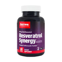 Resveratrol Synergy 200 60 tb, Jarrow Formulas