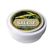 Crema cu extracte de salcie, ienupar, camfor 15g, Manicos