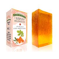 Sapun regenerant cu ulei de catina si ulei volatil de melisa 100 g