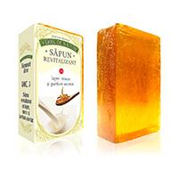 Sapun revitalizant cu lapte, miere si parfum asortat 100 g
