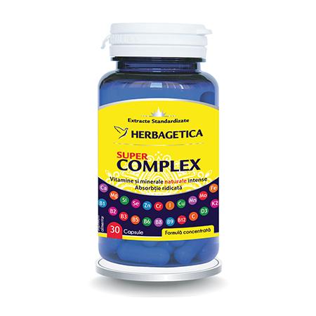 Super Complex 30 cps, Herbagetica