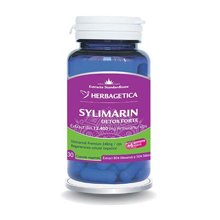 Silymarin 80/50 30 cps, Herbagetica