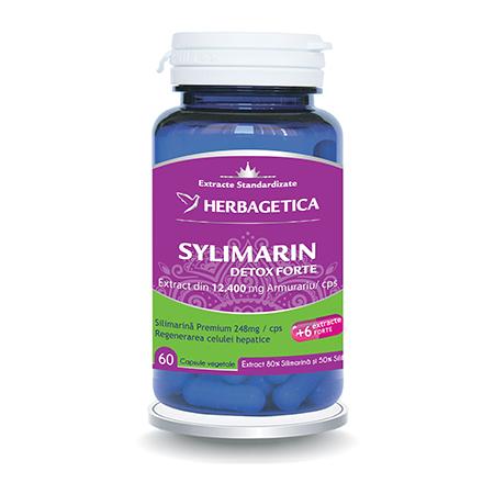 Silymarin 80/50 60 cps, Herbagetica