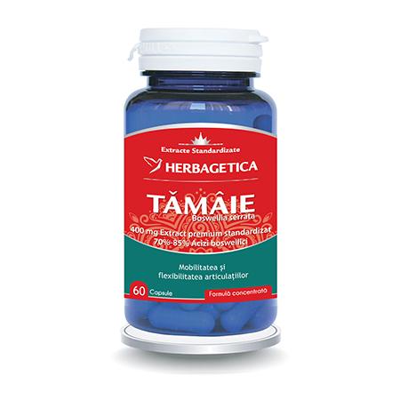 Tamaie - Boswellia Serrata 60 cps, Herbagetica