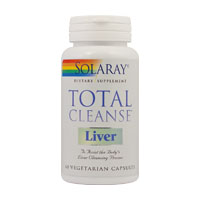 Total Cleanse Liver 60 cps, Solaray