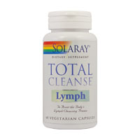 Total Cleanse Lymph 60 cps, Solaray