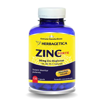 Zinc Forte 120 cps, Herbagetica