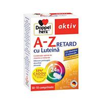 Aktiv A-Z Retard cu Luteina 30 cpr, Doppelherz