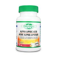 Acid Alfa Lipoic 100 mg 60 cps