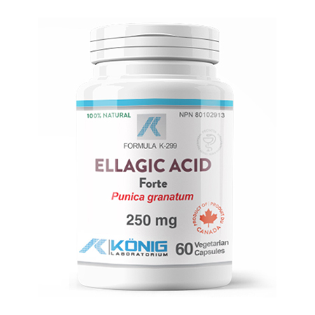 Acid elagic (Pomegranate, Rodie)  250mg 60 cps, Konig Nutrition
