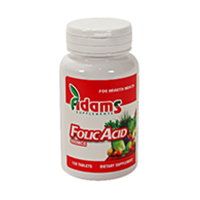 Acid Folic 400mcg 120 tbl, Adams Vision