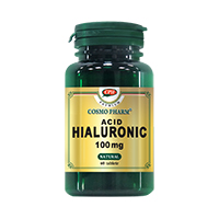 Acid Hialuronic 100mg 60 cps, Cosmo Pharm