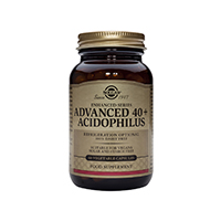 Advanced 40+ Acidophilus 60 cps, Solgar