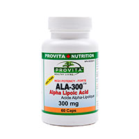 ALA-300 - Acid Alpha Lipoic standardizat forte 300 mg 60 cps
