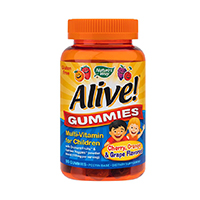 Alive! Gummies Multi-Vitamin for Children 90 jeleuri Nature's Way
