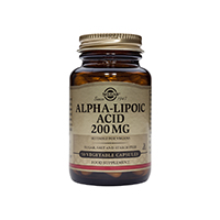 Alpha Lipoic Acid 200mg 50 cps, Solgar