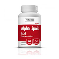 Alpha Lipoic Acid 250mg 60 cps