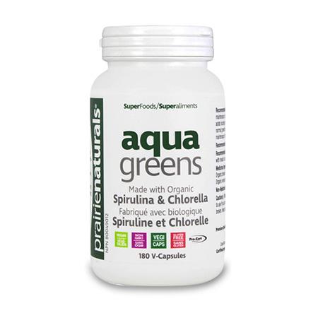 Aqua Greens 180 cps, PraerieNaturals