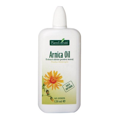 Arnica Oil 120 ml, Plantextrakt