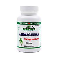 Ashwagandha + Magneziu 60 caps