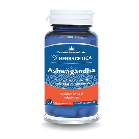 Ashwagandha 60 cps, Herbagetica