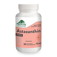 Astaxanthin forte 15mg 30 cps, Provita Nutrition
