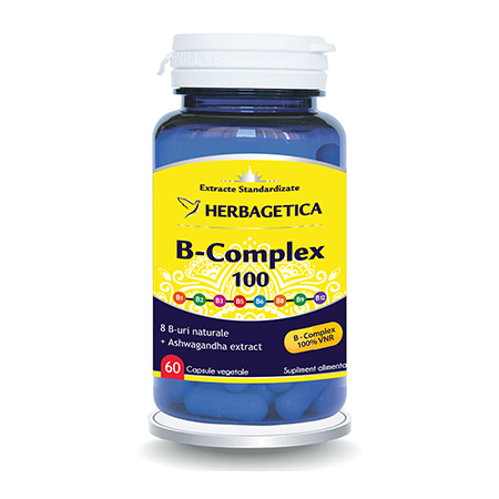 B Complex 100 60 cps, Herbagetica