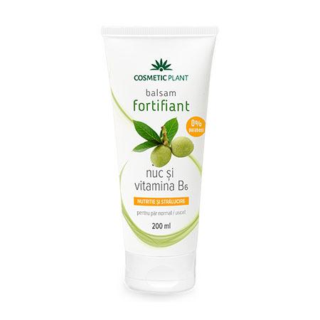 Balsam fortifiant cu nuc si vitamina B6  200 ml, Cosmetic Plant
