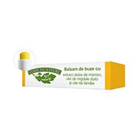 Balsam de buze cu extract uleios de morcovi, ulei de migdale si ulei de lamaie 4,8g, Manicos