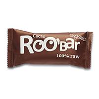 Baton raw bio cu cacao 50 g, Roobar