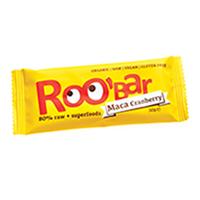 Baton raw bio cu maca si merisor 30 g, Roobar