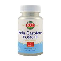 Beta Carotene 25000 UI 50 cps, KAL