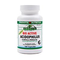 Acidofilus Lactobacilus Bio-Activ 100 cps, Provita Nutrition