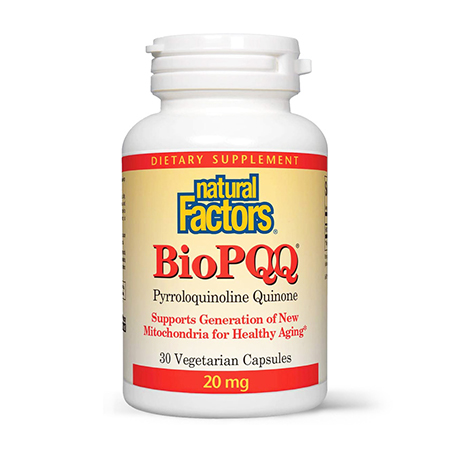 Coenzima Bio-PQQ Forte 20mg 30 cps, Natural Factors