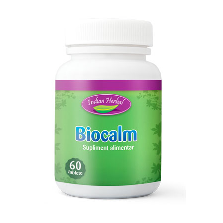 Biocalm 60 tb, Indian Herbal