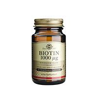 Biotin 1000mcg 50 cps, Solgar