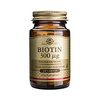 Biotin 300mcg 100 tb, Solgar
