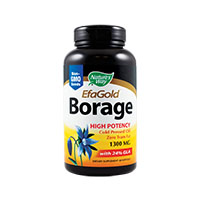 Borage 1300 mg Efagold 60 cps, Nature's Way