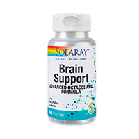 Brain Support 60 cps, Solaray